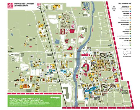 Osu Campus Map As Including The Best Maps In The World