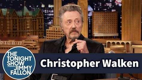 Christopher Walken Watches a Clip of Himself as a Child