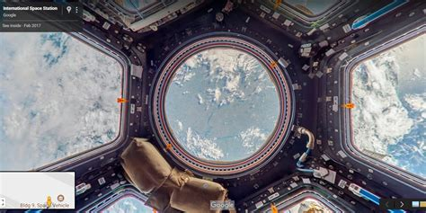 Google Street View Visits Space with an Annotated Tour of