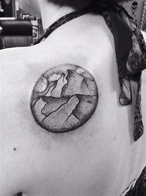 My Mt Everest landscape tattoo done my Murphy Campbell