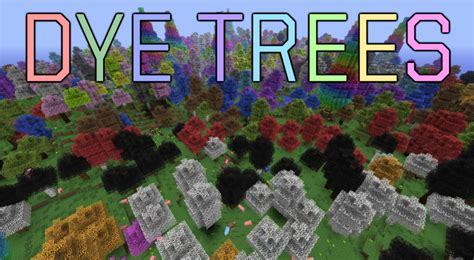 Dye Trees - Official Feed The Beast Wiki