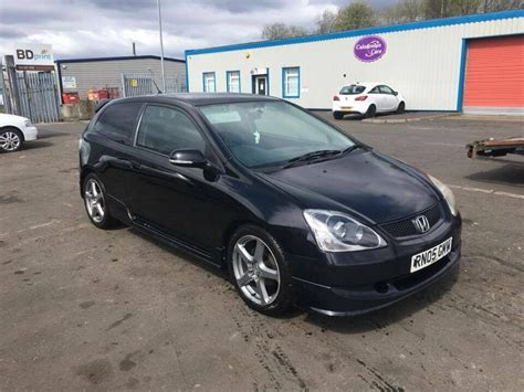 Honda Civic 2005 '05' SPORT EP2 Black 128k FRESH MOT - EP3