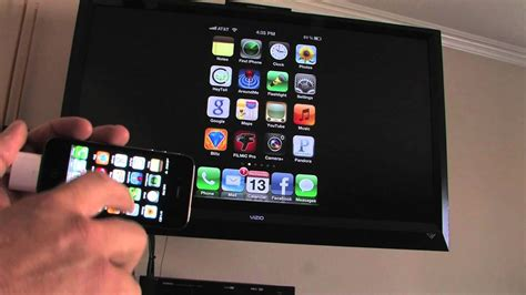 Apple iPhone HDMI adapter - YouTube