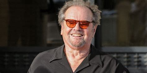 Hollywood legend Jack Nicholson is making his movie comeback