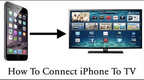 How To Connect iPhone To TV - YouTube