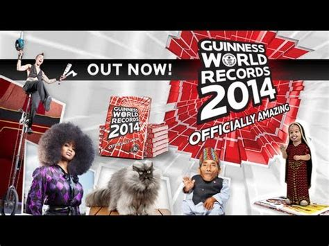 Guinness World Records 2014 Book Launch Videos - YouTube