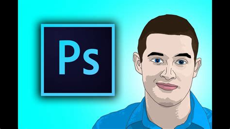 How To Cartoon Yourself In Photoshop CC - YouTube