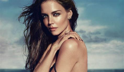 Katie Holmes poses topless in a racy photoshoot