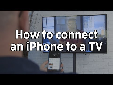 How to Mirror or Stream iPhone Display or Media to TV
