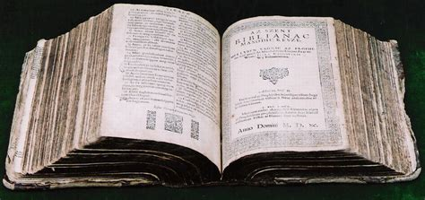 This was the way how the first Holy Bible in Hungarian was