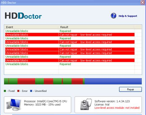New Rogue Software: HDD Doctor - URLVoid Blog