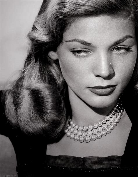 """Actress Lauren Bacall, who featured in films like """"To Have"""