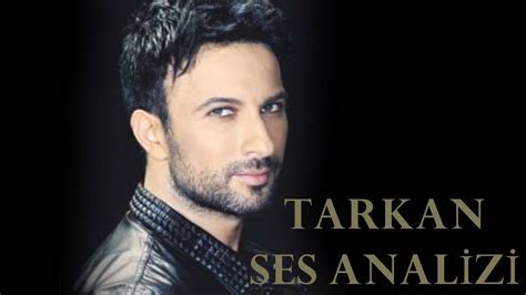 Voice Analysis of Tarkan - YouTube