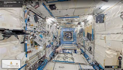 You Can Now Take a Tour Through the ISS Thanks to Google