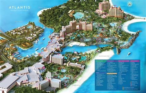 Resort Map | Atlantis Paradise Island | Bahamas