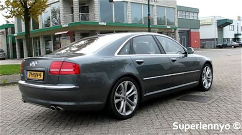 Audi S8 V10 - Revving, Accelerating and Drive! - YouTube
