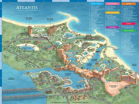 Atlantis Resort Map - Maplets