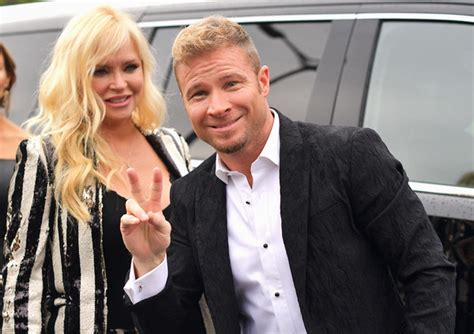 Brian Littrell, Leighanne Wallace - Brian Littrell and