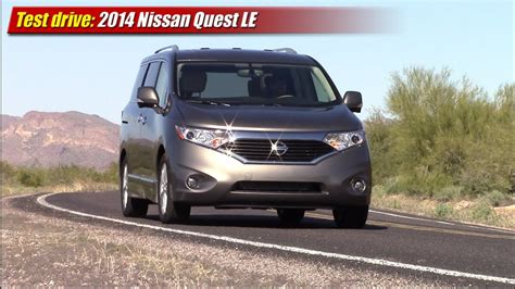 Test drive: 2014 Nissan Quest LE - YouTube