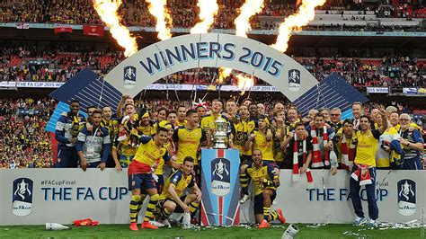 Three FA Cup wins in four years | History | News | Arsenal