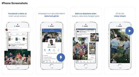 Facebook Lite for iOS with less bandwidth, device storage
