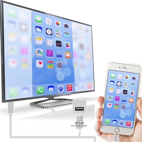Lightning to HDMI Cable iPhone iPad Cellular to TV – The