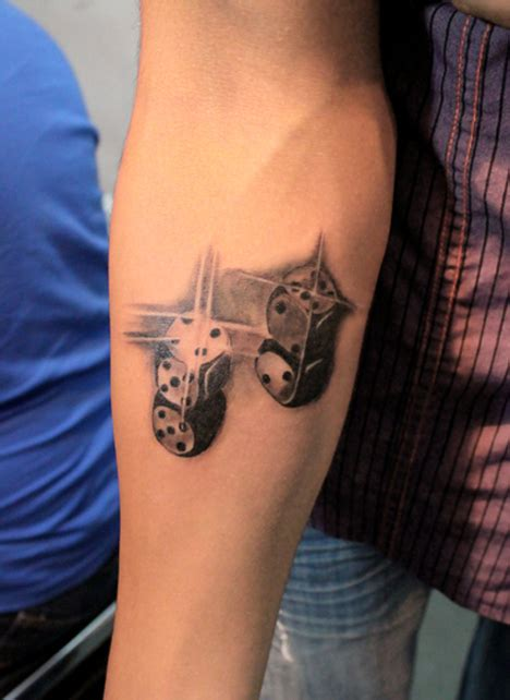 Dice Tattoos Designs, Ideas and Meaning   Tattoos For You