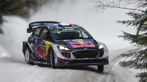 WRC Rally Sweden 2017: SATURDAY ACTION - YouTube