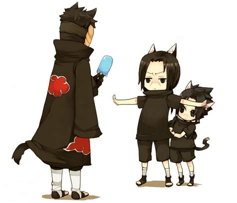 """Stop right there, mister!"" —Itachi ^/"