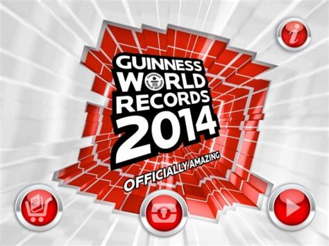Guinness World Records 2014 app review - appPicker