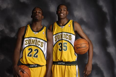 Seattle Supersonics: Kevin Durant and Jeff Green in 2018