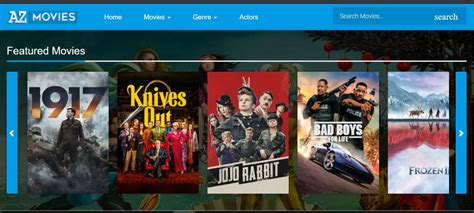 AZmovies: Top Sites Like AZ movies For Watching Online Movies