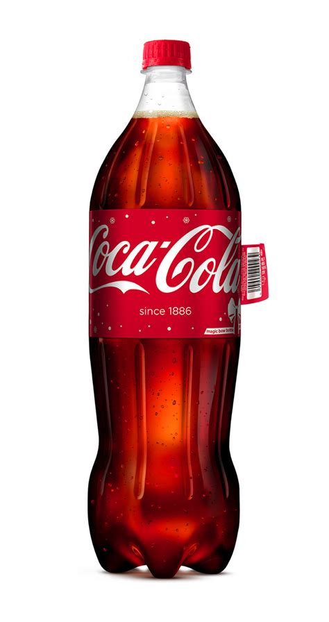 Coca-Cola's Ingenious Holiday Bottle Has a Label You Pull
