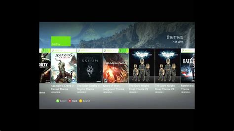 (OLD) How To: Download themes on the Xbox 360 2012