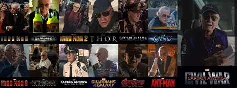 Stan Lee throughout the movies