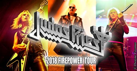 JUDAS PRIEST To Launch 'FIREPOWER 2018' North American