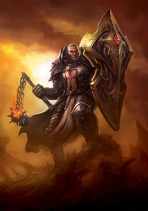 Crusader Fan Art - Diablo III