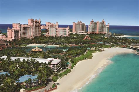 Paradise in the Lost City of Atlantis in the Bahamas