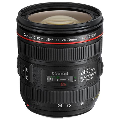 Canon EF 24-70mm f/4L IS USM Lens 6313B002 B&H Photo Video