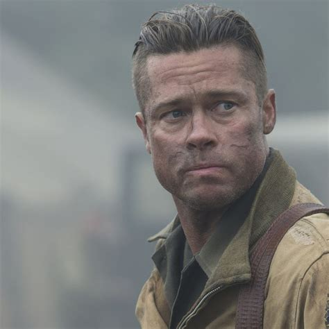 How To Get Brad Pitt's Hair In 'Fury'