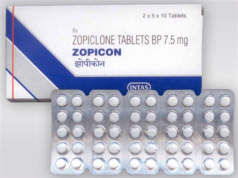 Zopiclone Tablets - Zopiclone Tablets Manufacturer