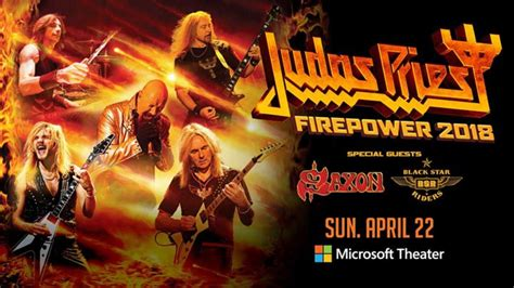 Judas Priest - Firepower Tour 2018 - Konzert- und