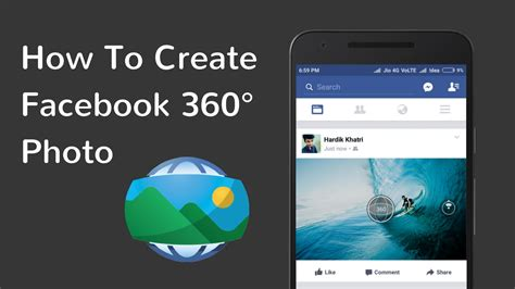 Post 360 photo to Facebook from your Android phone By HK