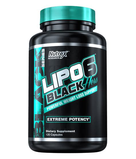 Lipo-6 Black Hers — Nutrex Research
