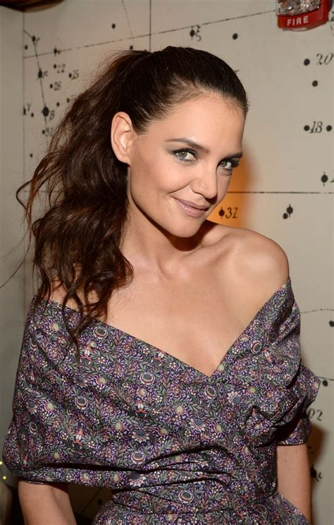 Katie Holmes - Backstage at The Tonight Show in NY 3/29/2017