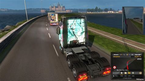 Euro Truck Simulator 2 Scandinavia DLC Gameplay P