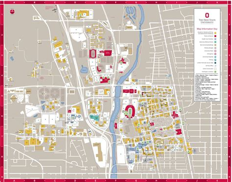 Map of connected buildings on campus : OSU
