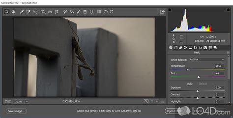 Camera Raw for Photoshop CS6 - LO4D