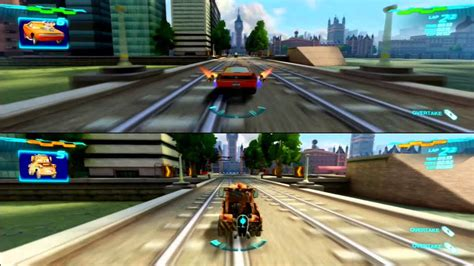Cars 2 Game Play 2 player split screen 004 - YouTube