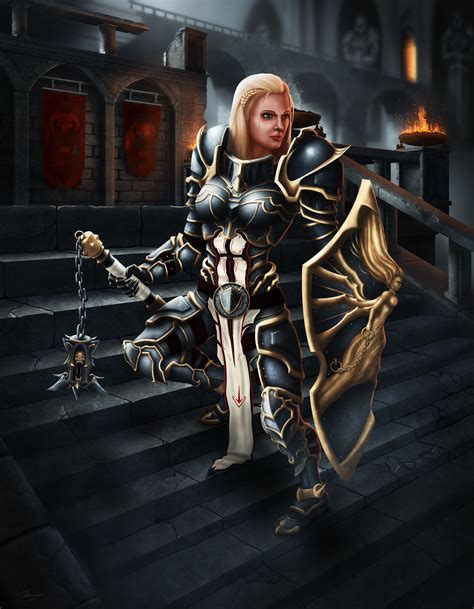 Diablo III - Crusader by DwarfVader23 on DeviantArt